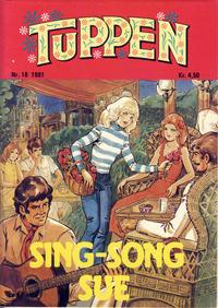 Cover Thumbnail for Tuppen (Serieforlaget / Se-Bladene / Stabenfeldt, 1969 series) #18/1981