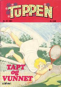 Cover Thumbnail for Tuppen (Serieforlaget / Se-Bladene / Stabenfeldt, 1969 series) #22/1981