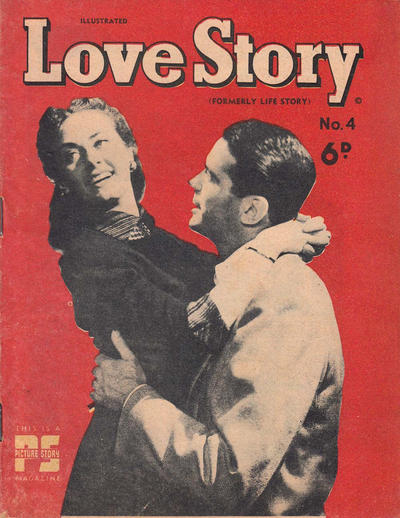 Cover for Illustrated Love Story (Cleland, 1950 series) #4