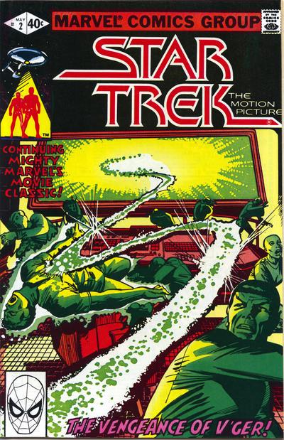 Cover for Star Trek (Marvel, 1980 series) #2 [Newsstand]