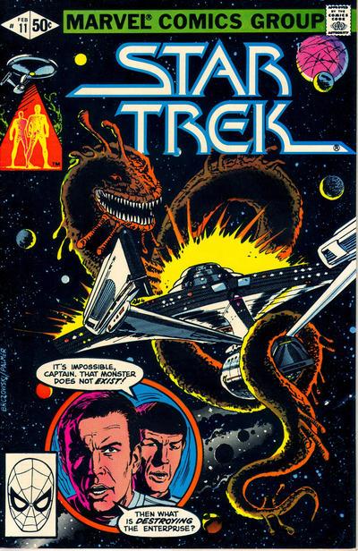 Cover for Star Trek (Marvel, 1980 series) #11 [Newsstand]