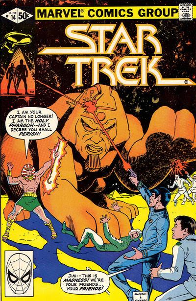 Cover for Star Trek (Marvel, 1980 series) #14 [Newsstand]