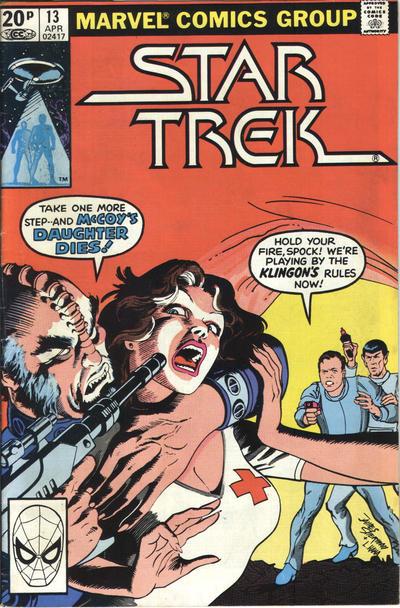 Cover for Star Trek (Marvel, 1980 series) #13 [Direct]