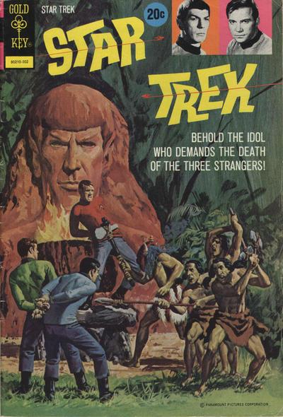 Cover for Star Trek (Western, 1967 series) #17