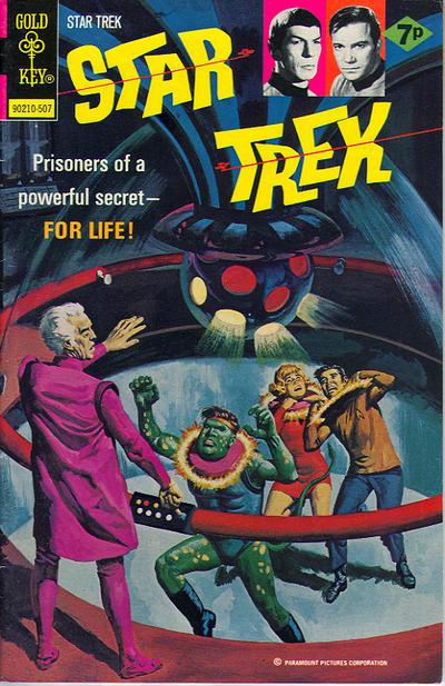 Cover for Star Trek (Western, 1967 series) #31