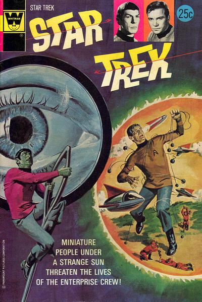 Cover for Star Trek (Western, 1967 series) #25