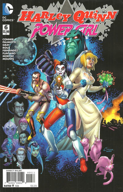 Cover for Harley Quinn and Power Girl (DC, 2015 series) #6