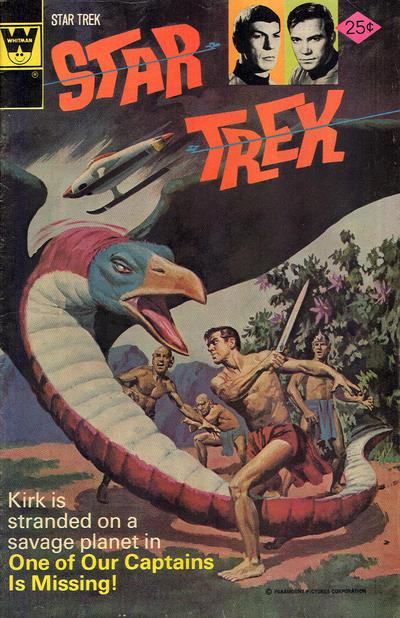 Cover for Star Trek (Western, 1967 series) #38