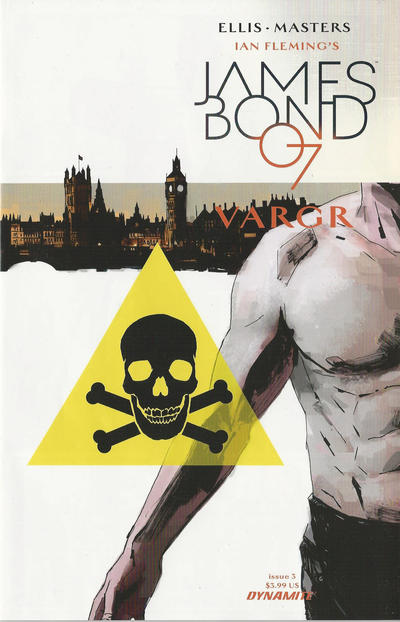 Cover for James Bond (Dynamite Entertainment, 2015 series) #3 [Cover A]