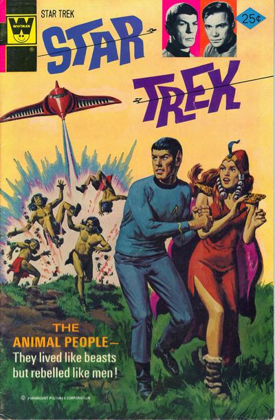 Cover for Star Trek (Western, 1967 series) #32