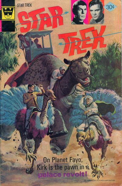 Cover for Star Trek (Western, 1967 series) #44
