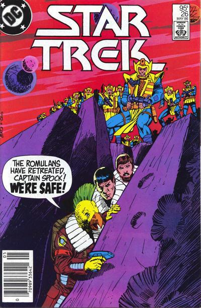 Cover for Star Trek (DC, 1984 series) #26 [Direct]