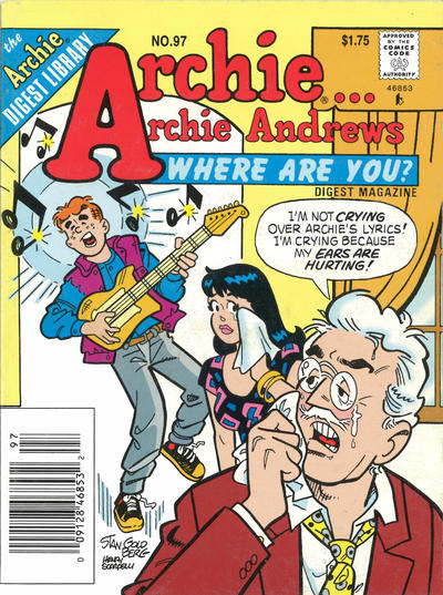 Cover for Archie... Archie Andrews Where Are You? Comics Digest Magazine (Archie, 1977 series) #97