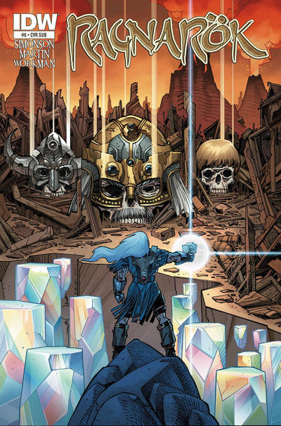Cover for Ragnarök (IDW, 2014 series) #6 [Subscription Cover]