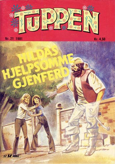 Cover for Tuppen (Serieforlaget / Se-Bladene / Stabenfeldt, 1969 series) #21/1981