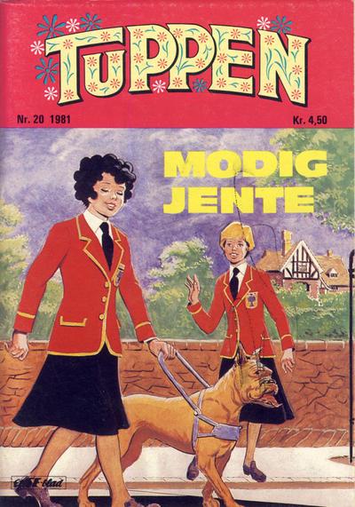 Cover for Tuppen (Serieforlaget / Se-Bladene / Stabenfeldt, 1969 series) #20/1981