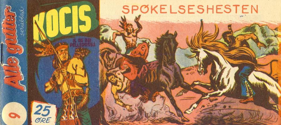 Cover for Alle Gutters Serieblad (Halvorsen & Larsen, 1952 series) #9/1955