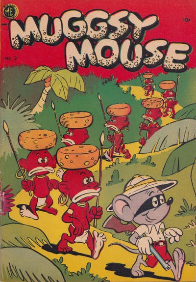 Cover for Muggsy Mouse (Superior, 1953 ? series) #2