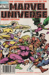 Cover for The Official Handbook of the Marvel Universe (Marvel, 1985 series) #1 [Canadian]