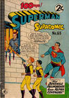 Cover for Superman Supacomic (K. G. Murray, 1959 series) #65