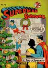 Cover for Superman Supacomic (K. G. Murray, 1959 series) #72
