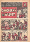 Cover for Chucklers' Weekly (Consolidated Press, 1954 series) #v1#20