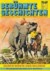 Cover for Bastei Sonderband (Bastei Verlag, 1970 series) #20 - Durch die Wüste und Wildnis