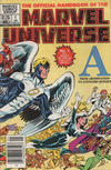 Cover Thumbnail for The Official Handbook of the Marvel Universe (1983 series) #1 [Canadian]