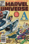 Cover Thumbnail for The Official Handbook of the Marvel Universe (1983 series) #1 [Newsstand]