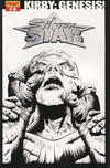"Cover for Kirby: Genesis - Silver Star (Dynamite Entertainment, 2011 series) #2 [""Black & White"" Retailer Incentive]"