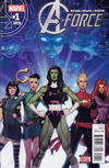 Cover for A-Force (Marvel, 2016 series) #1 [Direct Edition]