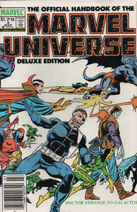 Cover Thumbnail for The Official Handbook of the Marvel Universe (Marvel, 1985 series) #4 [Canadian]