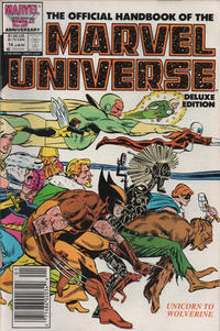 Cover Thumbnail for The Official Handbook of the Marvel Universe (Marvel, 1985 series) #14 [Newsstand]
