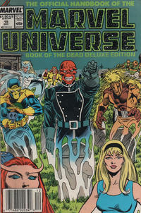Cover Thumbnail for The Official Handbook of the Marvel Universe (Marvel, 1985 series) #19 [Newsstand]