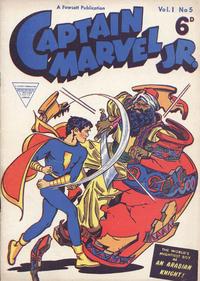 Cover Thumbnail for Captain Marvel Jr. (L. Miller & Son, 1953 series) #5