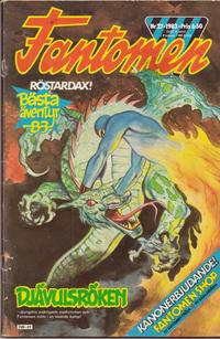 Cover Thumbnail for Fantomen (Semic, 1963 series) #27/1983