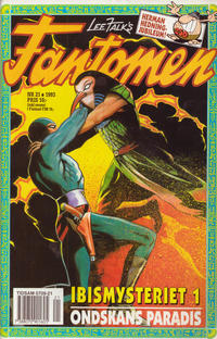 Cover Thumbnail for Fantomen (Semic, 1963 series) #21/1993
