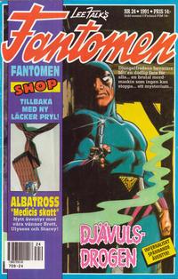 Cover Thumbnail for Fantomen (Semic, 1963 series) #24/1991