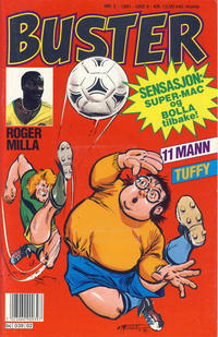 Cover Thumbnail for Buster (Semic, 1984 series) #2/1991