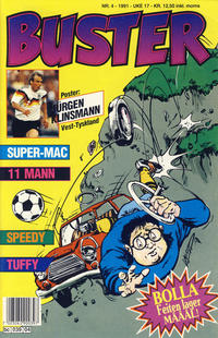 Cover Thumbnail for Buster (Semic, 1984 series) #4/1991