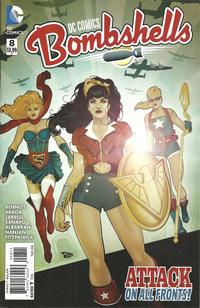 Cover Thumbnail for DC Comics: Bombshells (DC, 2015 series) #8