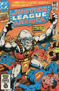 Cover Thumbnail for Justice League of America (DC, 1960 series) #196 [Direct Sales Variant]