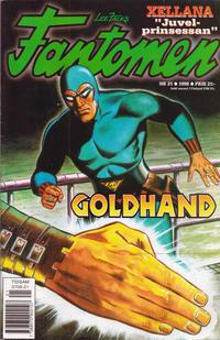Cover Thumbnail for Fantomen (Egmont, 1997 series) #21/1998
