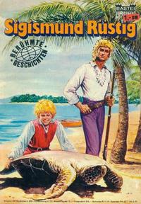 Cover Thumbnail for Bastei Sonderband (Bastei Verlag, 1970 series) #7 - Sigismund Rüstig