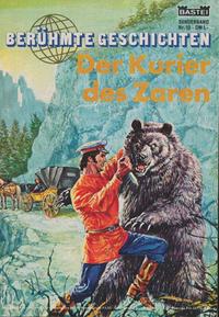Cover Thumbnail for Bastei Sonderband (Bastei Verlag, 1970 series) #10 - Der Kurier des Zaren