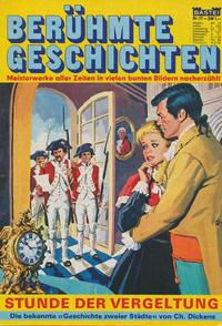 Cover Thumbnail for Bastei Sonderband (Bastei Verlag, 1970 series) #17 - Stunde der Vergeltung
