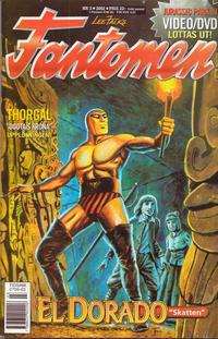 Cover Thumbnail for Fantomen (Egmont, 1997 series) #3/2002