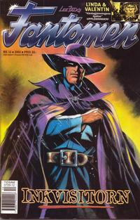 Cover Thumbnail for Fantomen (Egmont, 1997 series) #12/2002