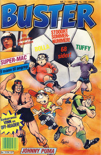 Cover Thumbnail for Buster (Semic, 1984 series) #7/1991