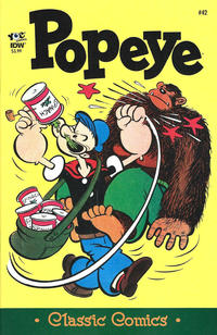 Cover Thumbnail for Classic Popeye (IDW, 2012 series) #42